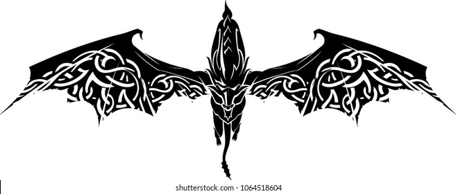 Dragon Glide with Celtic Wings