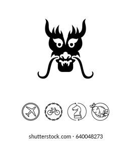 Dragon head icon