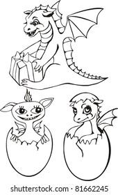 dragon, horoscope, symbol of the new year