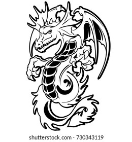 Dragon illustration object