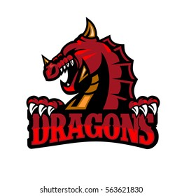 Dragon Logo Dragons Symbol