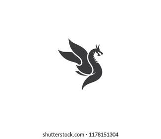 Dragon logo icon