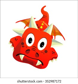 Dragon Red Goofy With Wings