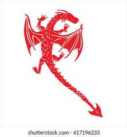 Dragon Red Lizard Style