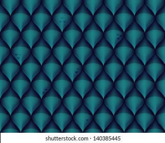 Dragon scale textured background
