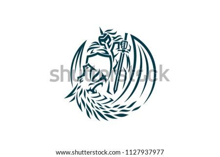 Dragon Slayer Simple Design