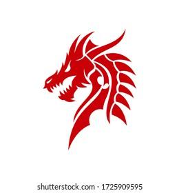Dragon Tribal logo design inspiration