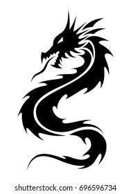 Tribal design dragon tattoo Dragon Tribal