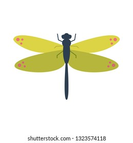 dragonfly flat icon.You can be used dragonfly icon for several purposes like: websites, UI, UX, print templates, presentation templates, promotional materials, web and mobile phone apps