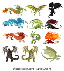 dragons characters collection