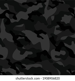 drak army camouflage vector seamless print