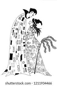 Drakula Witch Klimt Gustav Halloween
