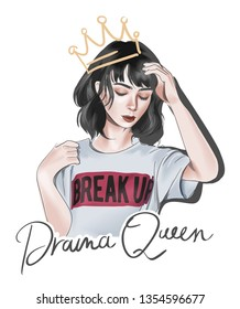 Royalty Free Drama Queen Stock Images Photos Vectors