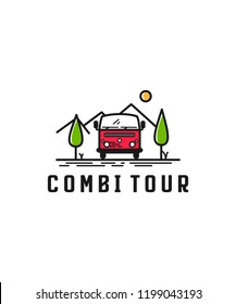 Draw a combi car and view.