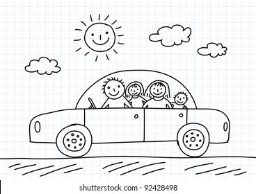 Car Drawing Images Stock Photos Vectors Shutterstock