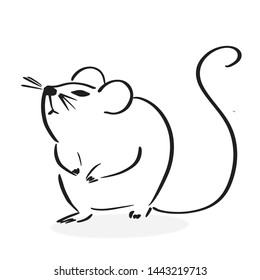 Simple Mouse Drawing Images Stock Photos Vectors