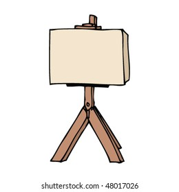 drawing easel stock vector royalty free 47826121 shutterstock