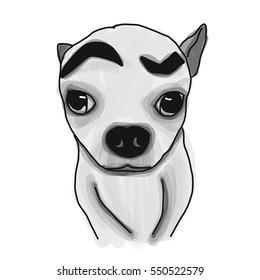 Drawing Funny Dog
