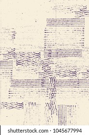 Drawing Halftone Textures. Hand Drawn Abstract Background. Vector Illustration