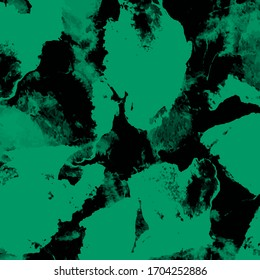 Drawing or illustration of background or texture with abstract design. Stains Vector in EPS 8 format. Green and black color.