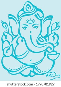 Lord Ganesh Drawing Images Stock Photos Vectors Shutterstock