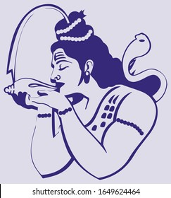 Lord Shiva Parvati Images Stock Photos Vectors Shutterstock