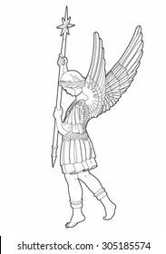 Drawing St Michael