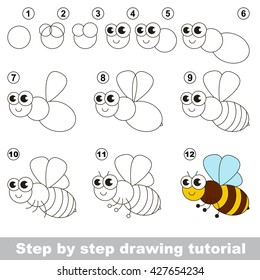 Simple Drawing Bees Images Stock Photos Vectors Shutterstock