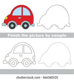 Car Drawing Easy Stock Illustrations Images Vectors Shutterstock