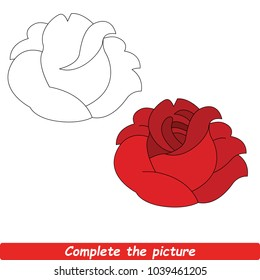 Step By Step Flower Drawings Stock Illustrations Images Vectors