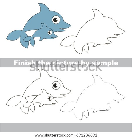 Preschool Worksheets Fish Coloring Drawing Picturesque Www