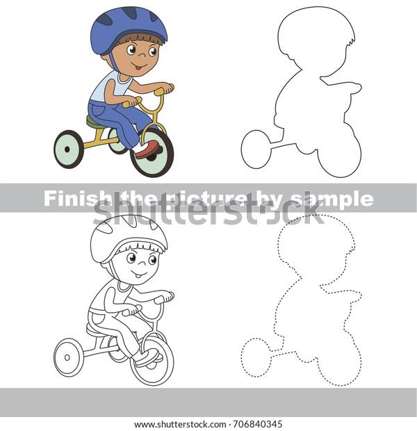 drawing worksheet preschool kids easy 600w