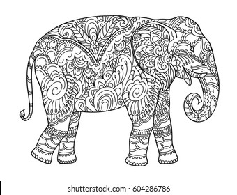 Colourful Elephant Images, Stock Photos & Vectors | Shutterstock