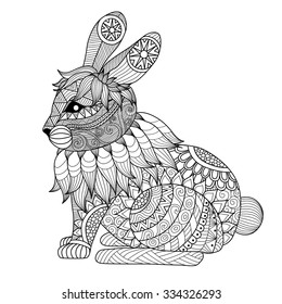 Colouring Pages Rabbit Images Stock Photos Vectors Shutterstock
