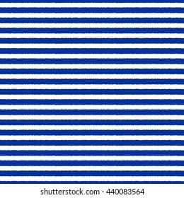 Drawn sailor stripes seamless vector pattern, blue and white striped background. Striped Vest.