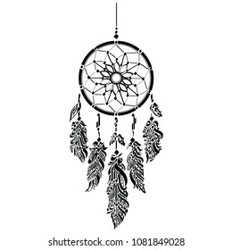 Dream Catcher special Decorative drawing, ------------- a decorative symbol taken from the curves of the Arabic language, which doesn't contain any words or even a full letter, great tattoo