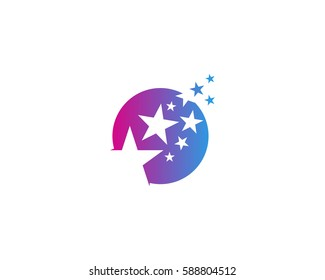 Dream Star Logo Design Element