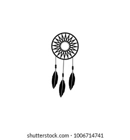 Dreamcatcher icon. Elements of culture of Mexico icon. Premium quality graphic design icon. Simple love icon for websites, web design, mobile app, info graphics on white background