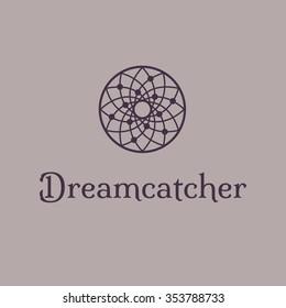 Dreamcatcher logo template