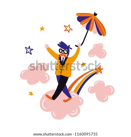 Dreamer flying umbrella Relax