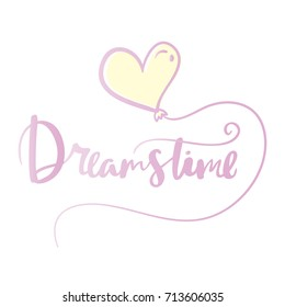 Dreamstime Hand drawn typography lettering phrase. Poster card lettering calligraphy the phrase