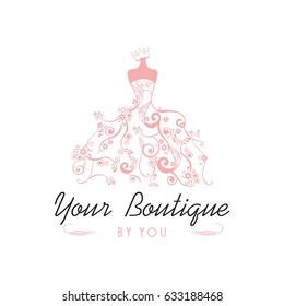 Wedding Dresses Logo Images Stock Photos Vectors Shutterstock