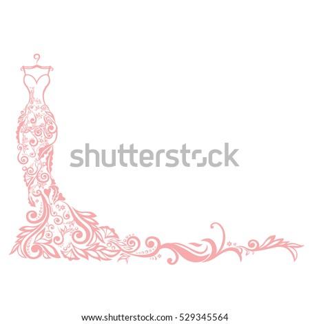 Dress boutique bridal logo template illustration stock vector dress boutique bridal logo template illustration design maxwellsz