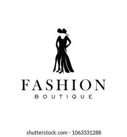 fashion luxury glamour elegant woman silhouette のベクター画像素材