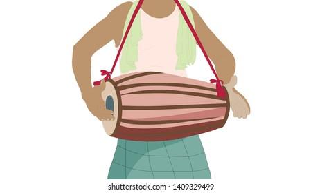 Drift, Asian musical instruments- tomtom or tam-tam