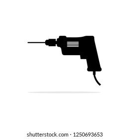 driller icon. Vector concept illustration for design.