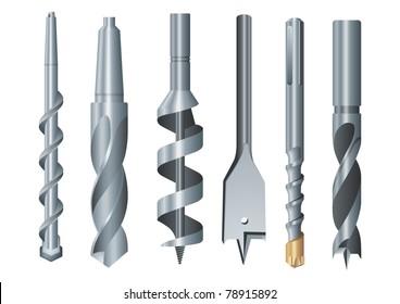 Drills vector