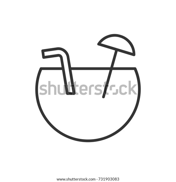 Drink icon logo design vector illustration