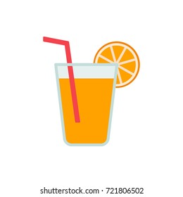 Drink with orange