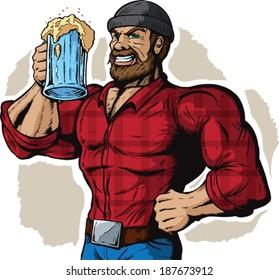 Drinking Lumberjack